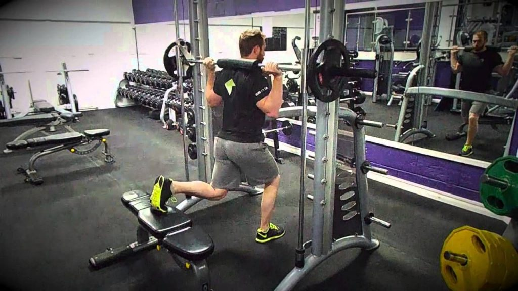Avis Smith Machine Split Squat