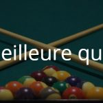 Avis queue mini billard