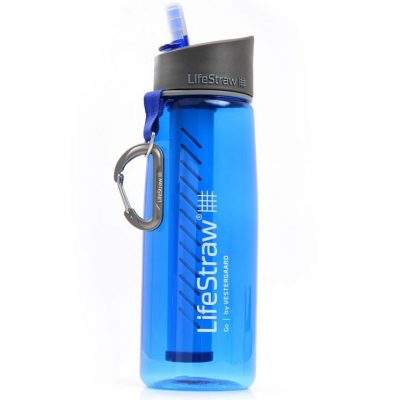 test gourde filtrante lifestraw
