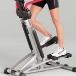 Test stepper fitness machine