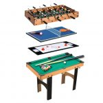 Test table baby foot billard et air hockey