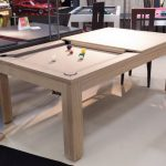 Test table billard transformable pas cher